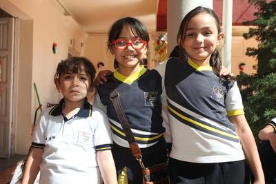 Aylin, Liliana y Natalia.