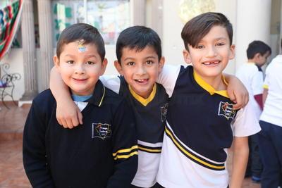 Guillermo, Fernando y Javier.