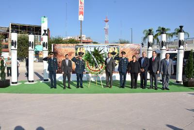 Al participar con un mensaje en el acto cívico realizado en la explanada de la Plaza Mayor con motivo del 170 aniversario de la Gesta Heróica de los Niños Héroes de Chapultepec, expresó que el valor, la lealtad y la abnegación siguen siendo elementales.