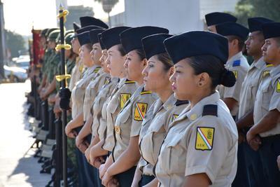 El Ayuntamiento de Torreón, junto con la XI Región Militar y el apoyo de diversos planteles educativos, conmemoraron a los seis cadetes del Colegio Militar del Castillo de Chapultepec que en 1847 defendieron con su vida la invasión estadounidense.