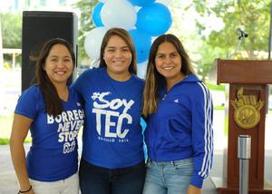 14092017 Sofía, Gaby y Paola.