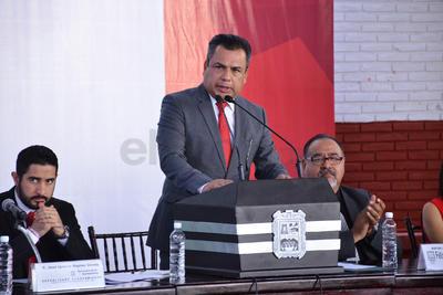"""El alcalde destacó en su mensaje que """"aunque muchos no lo quieran reconocer, Torreón es ahora una ciudad mucho mejor que hace décadas""""."""