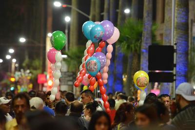 El Paseo Morelos se vistió de fiesta.