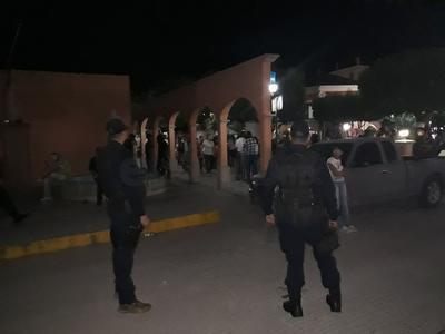 Corporaciones de Seguridad y Procuración de Justicia reportaron que durante los festejos patrios de esta noche se obtuvo un saldo blanco en el estado de Durango.