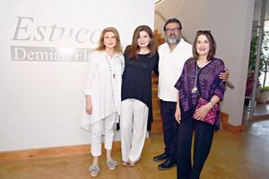 15092017 Jorge Castruita, César Regalado, Paola Castruita y Alejandra Briones.