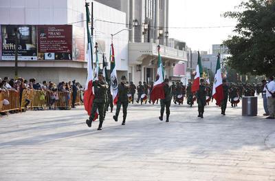 Como ya es tradición, se celebró una vez más el desfile militar del 16 de septiembre.