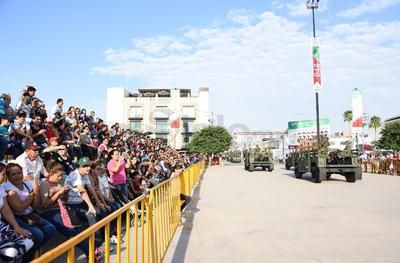 Este 16 de septiembre se celebró el tradicional desfile por la Independencia de México.