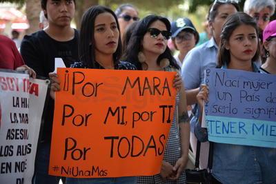 ¡Vivan las Mujeres!, ¡No queremos más Maras!, ¡Viva Mara!, ¡Viva Mara!, ¡Viva México!, expresaron.