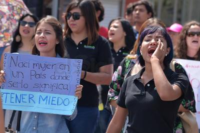Activistas Feministas de La Laguna organizaron la movilización.