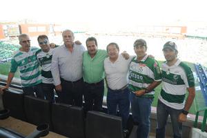 18092017 EN EL FUT.  David, Felipe, Adolfo, Ernesto, Gabriel y Alberto.