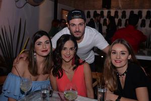 Diego, Marian, Daniela y Paulina