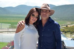 Maribel Triana y Beto Domínguez