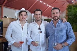 Mauricio Lozano, Jorge Cabrera y Adrián Treviño