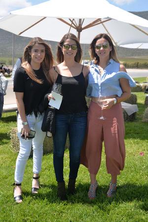 Paty Gil, Ana Gil y Gala Aguirre