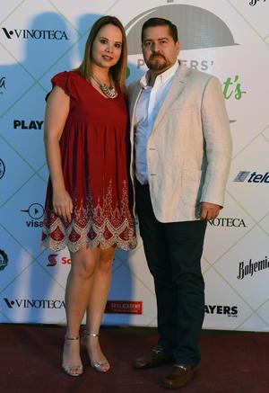Alexandra Roca y Daniel Ramos