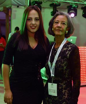 Alicia Leaños e Ingrid Rivera
