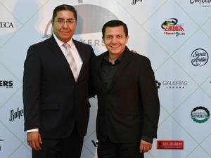 Julio César López y Gerardo Corrales