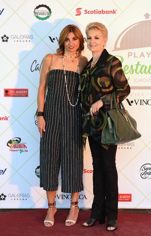 Marcela Siller y Georgina Finck