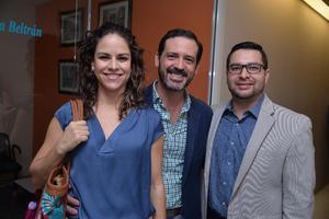Marcela, Iván y Javier