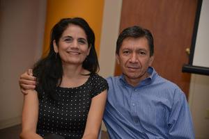 Marielena y Ricardo Acosta