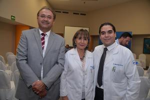 Regino Montoya, María Luisa de la Rosa y Enrique López