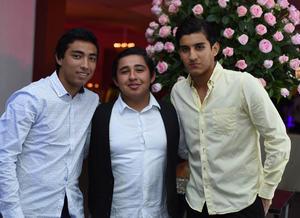 Francisco Silva, Eduardo Fernández y Arturo Silva
