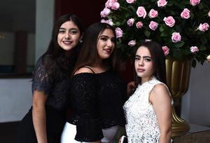 Jimena Hernández, Mayte Jaidar y Mady Basso