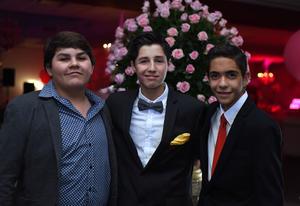 Lalo Correa, Diego Segura y Ricky de la Garza