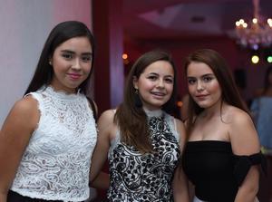 Natalia, Luana y Ximena