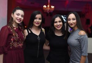 Sofía Navejas, Marijose Velázquez, Paulina Pereda y Sofía de la Fuente