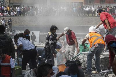 Luego del sismo de 7.1 grados registrado durante la tarde de ayer en México, la Embajada de Israel informó que enviará ayuda humanitaria para colaborar con las labores de rescate.