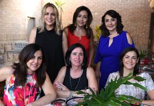 20092017 Irma, Rosa María, Dora, Angélica, Lety y Cecilia.