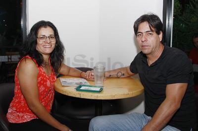 Martha Quezada y Alfredo García.