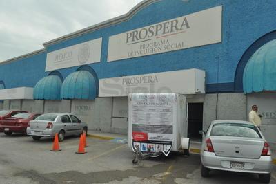 En Prospera en Plaza Jumbo también se instaló un centro de acopio.