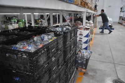 En La Laguna se han instalado diversos centros de acopio para apoyar a las víctimas del sismo.