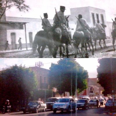 Roberto Duarte Moreno. Avenida Juárez y Francisco I. Madero.