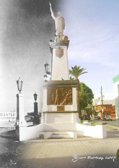 Edgar Pérez. Monumento a Cristóbal Colón.