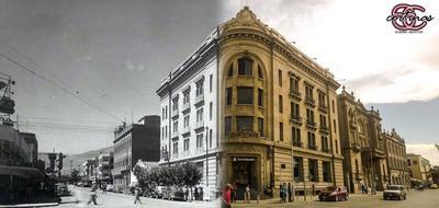 @Sergio Cortinas. Avenida Juárez y Cepeda.