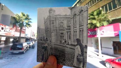 Tom Palomares. Avenida Hidalgo y Valdez Carrillo.