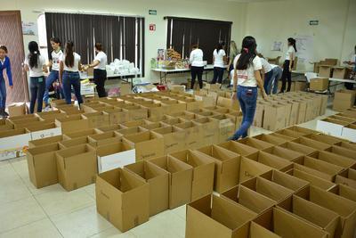 El alcalde destacó la necesidad de que se aporten alimentos para personas diabéticas.