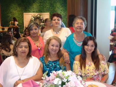 21092017 Ana, Rocío, Ingrid, Elida, Claudia y Margarita.