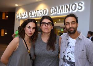 21092017 Ana Serradilla, Ruby Castillo y Axel Ricco.