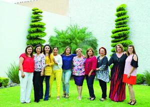 21092017 JARDINERAS.  Integrantes del Club de Jardinería Orquidea Negra en su reunión mensual.