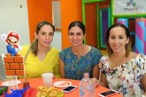 21092017 Claudia, Laura e Irasema.