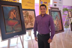 22092017 SEMANA CULTURAL.  Guillermo García Ochoa, artista plástico lagunero.