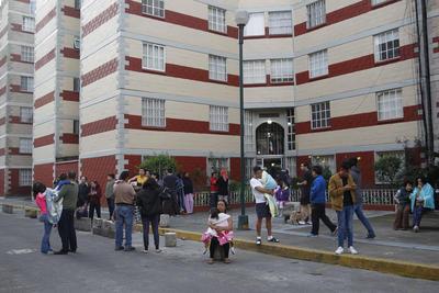 El temor y la angustia volvió a las calles de la Ciudad de México.