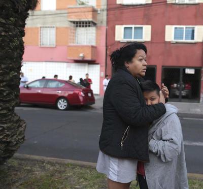 Fue a las 7:53 que sonó la alerta sísmica en la Ciudad de México.