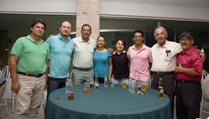 23092017 Francisco, Carlos, Memo, Rosy, Jessica, Alan, Francisco y Gabriel.