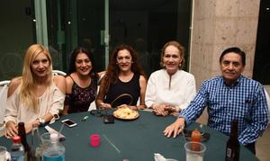 23092017 Perla, Azucena, María Luisa, Lupita  y Nazario.
