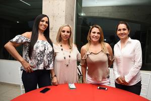 23092017 Emma, Vicky, Arminda y Lorena.